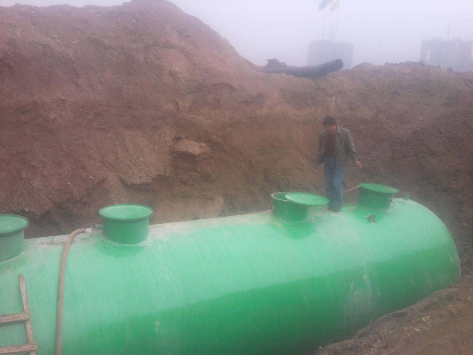 商洛玻璃钢污水处理设备