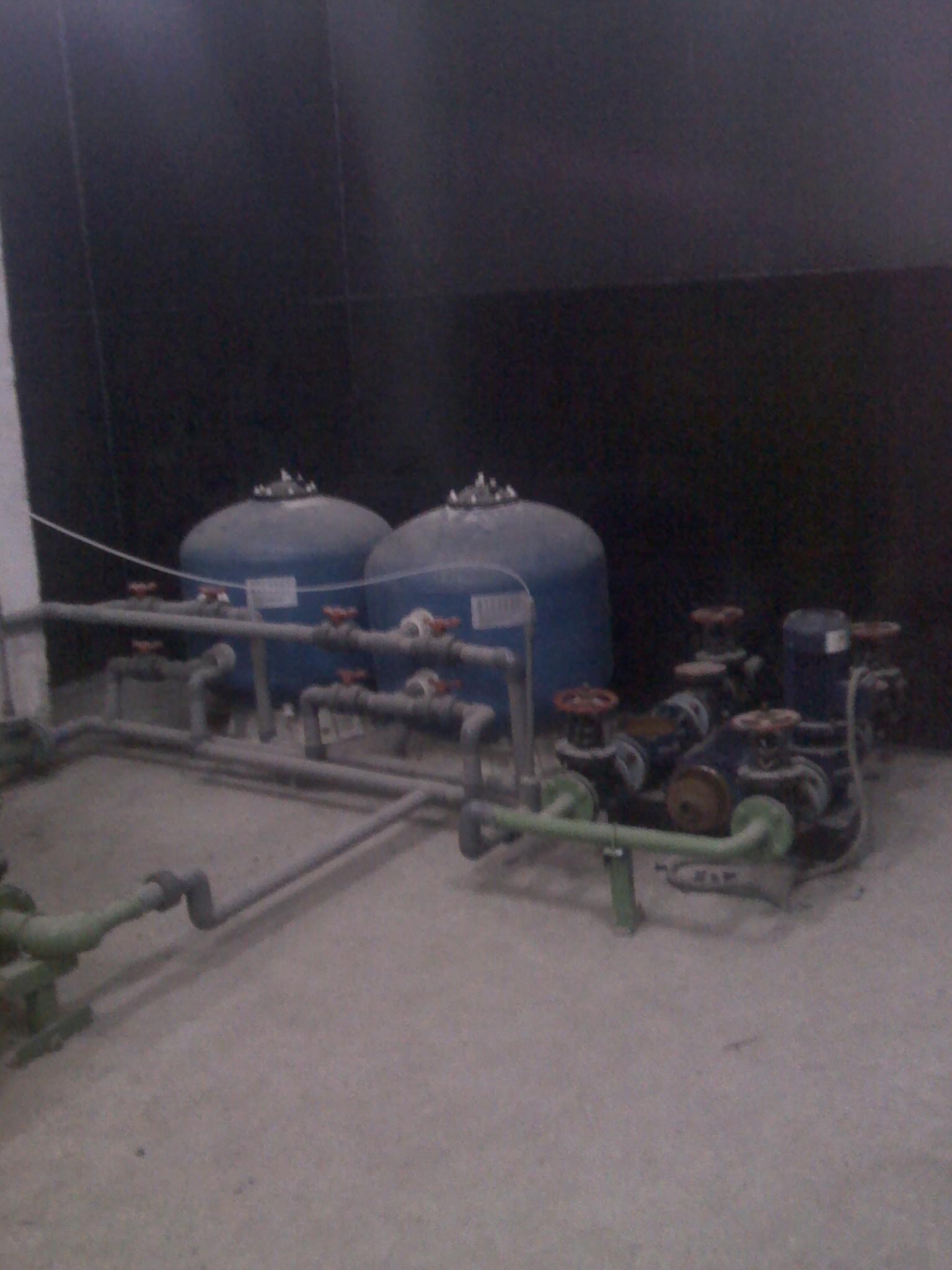 和记黄埔西安逸翠园中水回用设备
